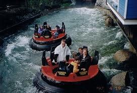 Wildwasserfahrt beim Vereinsausflug