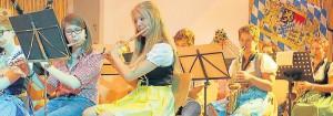 Der Musikverein Runkel war eines der fünf Orchester, die das Publikum in Obertiefenbach bestens unterhielten.
